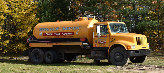 Winter Septic Service